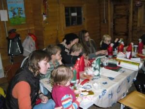 Weihnachtgsbasteln Hanelanden 2009